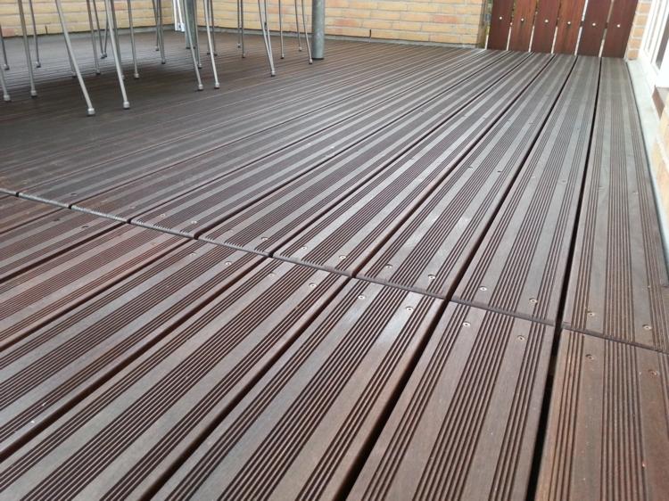 Terrassebrædder trykimprægneret rillet – Møbler til terrasse